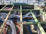 土台入れ始まりました。田村市船引町|郡山市 新築住宅 大原工務店のブログ