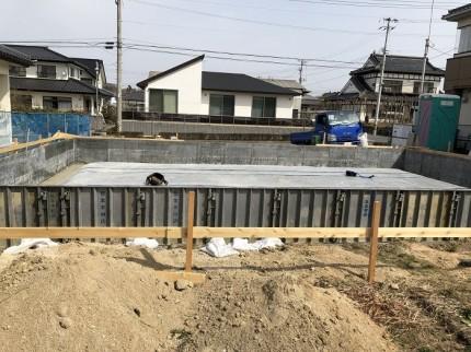 M様邸基礎工事進んでおります。田村郡三春町|郡山市 新築住宅 大原工務店のブログ