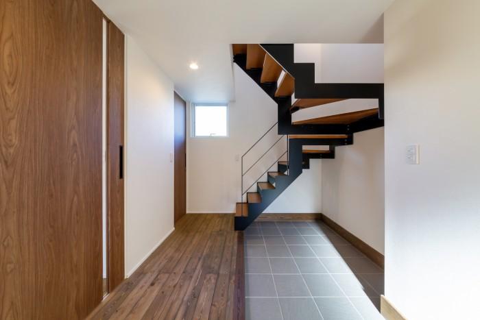 オープン階段が素敵です!