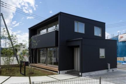 自社モデルハウスの外観です。郡山市安積町| 郡山市 新築住宅 大原工務店のブログ