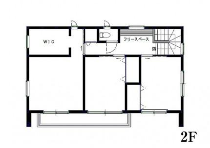 2階 見取り図|郡山市 デザイン住宅 大原工務店の商品ラインナップ