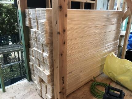 無垢のパイン材のフローリングです 郡山市亀田 | 郡山市 新築住宅 大原工務店のブログ