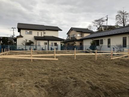 新築注文住宅を建てる前の大事な作業です。田村郡三春町|郡山市 新築住宅 大原工務店のブログ