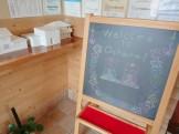大原工務店のウェルカムボードをひな祭りにしました!| 郡山市 新築住宅 大原工務店のブログ