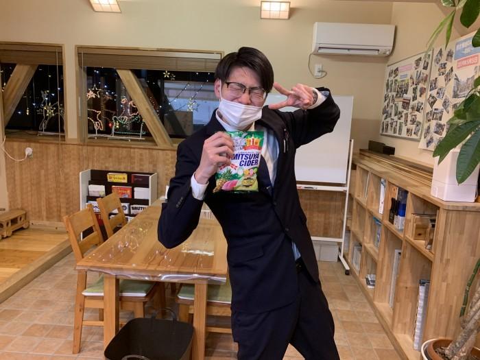 O様よりサイダー味の飴いただきました。郡山市安積町| 郡山市 新築住宅 大原工務店のブログ