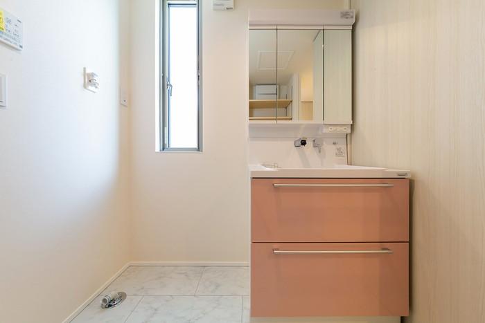 T様邸の洗面台です。本宮市仁井田| 郡山市 新築住宅 大原工務店のブログ