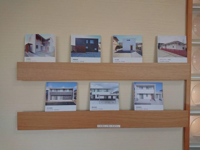 大原工務店の応接室にはお客様邸のフォトアルバムがあります。| 郡山市 新築住宅 大原工務店のブログ