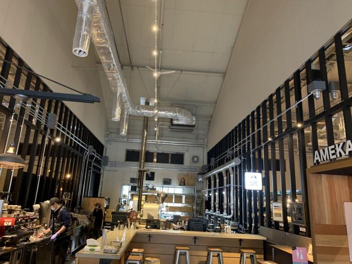 コーヒー屋さんの店内です。田村郡三春町| 郡山市 新築住宅 大原工務店のブログ