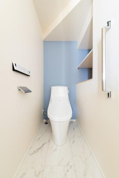 H様邸のトイレです!  郡山市 新築住宅 大原工務店のブログ