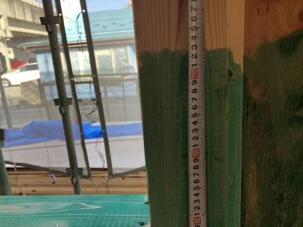 防蟻材がしっかりと施工されているかチェックします 郡山市小原田 | 郡山市 新築住宅 大原工務店のブログ