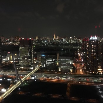 観覧車レインボーブリッジ夜景