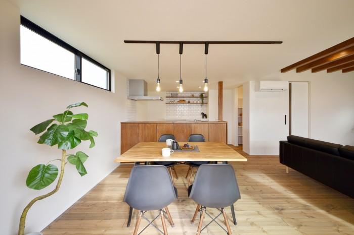 モデルハウス「ライフボックス」のダイニングルームです。| 郡山市 新築住宅 大原工務店のブログ