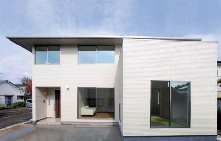 重厚感ながらもシンプルな寄棟屋根の家~外観~|郡山市 家づくり 大原工務店の家づくりのこだわり