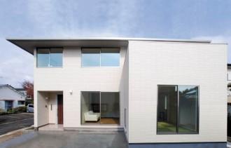 重厚感ながらもシンプルな寄棟屋根の家~外観~ 郡山市 家づくり 大原工務店の家づくりのこだわり