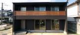 郡山市I様邸新築住宅外観|郡山市 デザイン住宅 大原工務店のお客様の声