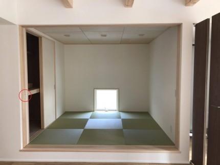 扉がなくスッキリしています。|郡山市 新築住宅 大原工務店のブログ