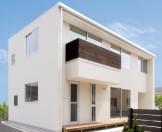 箱型自由設計 機能性とデザイン性が融合した住まい-外観-|郡山市 注文住宅 大原工務店の施工例