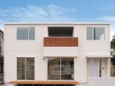 シンプル&ナチュラル キューブ型のこだわり一戸建て-外観-|郡山市 注文住宅 大原工務店の施工例