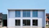 シンプルデザインを追求した注文住宅「Jupiter Cube」外観|郡山市 注文住宅 大原工務店の施工例