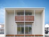 際立った外観を持ちながら、シンプルで美しい家-外観-|郡山市 注文住宅 大原工務店の施工例