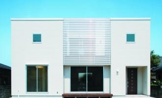 動線、収納、ライフスタイル等、機能を追求したシンプルデザイン-外観-|郡山市 注文住宅 大原工務店の施工例
