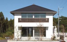 外観はシンプルでスタンダード|郡山市 デザイン住宅 大原工務店の商品ラインナップ