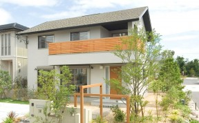2階のインナーバルコニーが、日々の暮らしに開放感を与えてくれます。|郡山市 デザイン住宅 大原工務店の商品ラインナップ