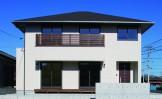20代からの家づくり 今時のベーシックスタイル新築-外観-|郡山市 注文住宅 大原工務店の施工例